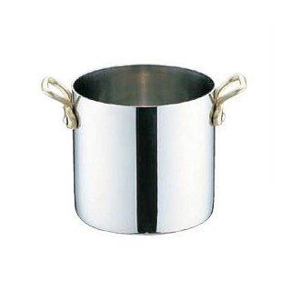 UK18-8 プチ寸胴鍋 蓋無 8cm ユキワ(PPT8501)8-1624-0101
