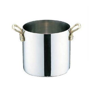 UK18-8 プチ寸胴鍋 蓋無 9cm ユキワ(PPT8502)8-1624-0102
