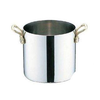 UK18-8 プチ寸胴鍋 蓋無 10cm ユキワ(PPT8503)8-1624-0103
