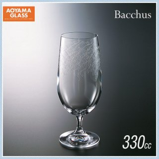 青山硝子 バッカス ビアグラス 310-1 330ml (6個セット) (MC-7016)