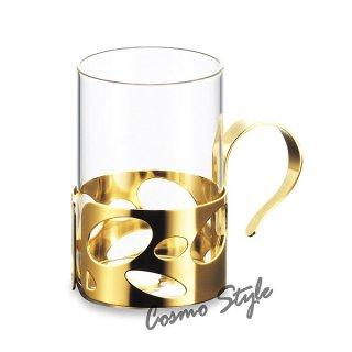 エムタカ ホットグラスGD 220ml (NO-2929) ティータイム マイカップ