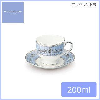 ウェッジウッド WEDGWOOD アレクサンドラ ティーカップ&ソーサー(リー) 200ml (AX-LCS)