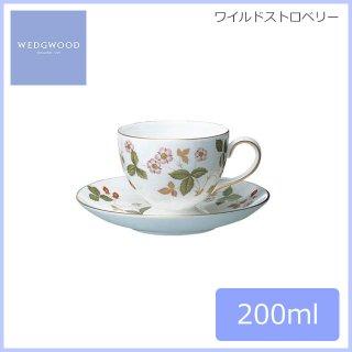 ウェッジウッド WEDGWOOD ワイルドストロベリー ティーカップ&ソーサー(リー) 200ml (WS-LCS)