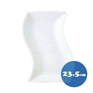 トルチェーレ 白磁 細長角皿6枚セット23.5cm  KOYO コーヨー(14500083)