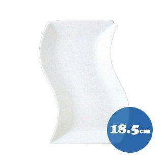 トルチェーレ 白磁 細長角皿6枚セット 18.5cm KOYO コーヨー(14500085)