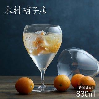 木村硝子店 バンビ 11ozワイン 330ml (6個セット) (BAMBI-11OZ)
