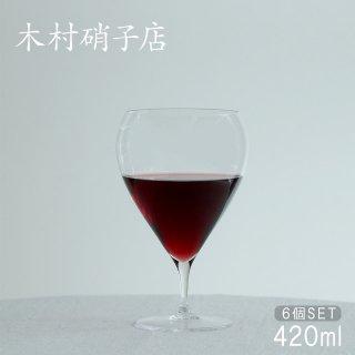 ワイングラス バンビ 14oz 420ml 6個入 木村硝子店 (6432) キッチン、台所用品