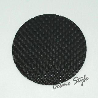 格子コースター(ブラック) (5枚セット) (AS-19-18)
