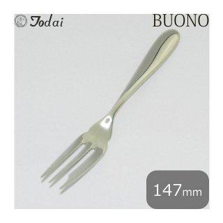 トーダイ ボーノ ケーキフォーク6本セット オールミラー仕上(18-8) (005428)