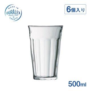 デュラレックス DURALEX ピカルディータンブラー 500ml (6個セット) (DU-201)