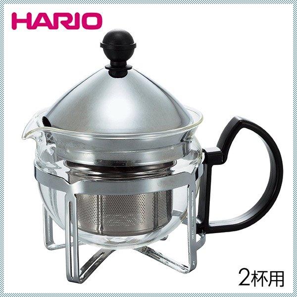 HARIO ハリオ 茶王 2人用 シルバー (CHAN-2SV)