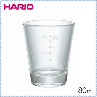HARIO ハリオ ショットグラス 80ml (6個セット) (SGS-80)