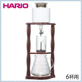 HARIO ハリオ ウォータードリッパー・ウッド 2〜6杯用 (WDW-6)