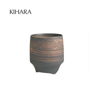 KIHARA 香酒盃 晶金かすり(L) + 専用化粧箱 (429L-109)