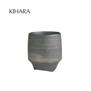 KIHARA 香酒盃 晶銀かすり(L) + 専用化粧箱 (429L-110)