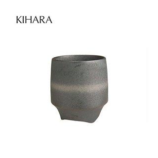 KIHARA 香酒盃 晶銀帯(L) + 専用化粧箱 (429L-112)