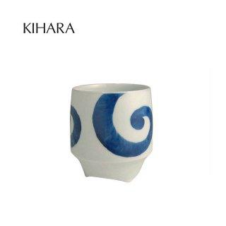 KIHARA 香酒盃 渦丸(L) + 専用化粧箱 (429L-121)