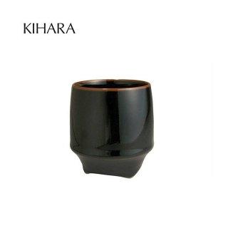 KIHARA 香酒盃 黒天目(L) + 専用化粧箱 (429L-122)
