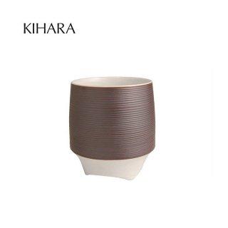 KIHARA 香酒盃 錆線筋(L) + 専用化粧箱 (429L-125)