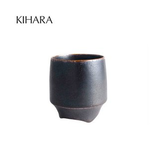 KIHARA 香酒盃 黒流彩(L) + 専用化粧箱 (429L-202)