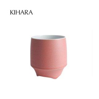 KIHARA 香酒盃 赤結晶釉 Lサイズ 専用化粧箱入(429L-203)