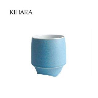 KIHARA 香酒盃 青結晶釉(L) + 専用化粧箱 (429L-204)