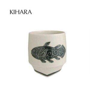 KIHARA 香酒盃 シーラカンス(L) + 専用化粧箱 (429L-106)