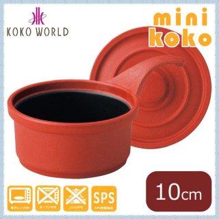 MIN ミニココ φ10 柄付 レッド [樹脂製] (M11-281)