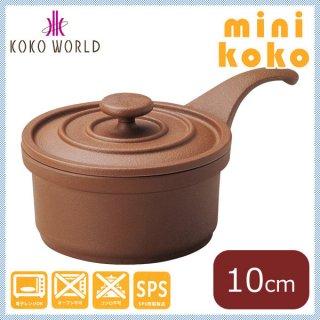 MIN ミニココ φ10 柄付 ブラウン [樹脂製] (M11-282)