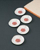 4.5号皿揃 水引き紋