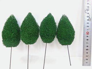 〔ディスプレイ・装飾・ジオラマなどに最適〕粉なし一般木【大】5本セット