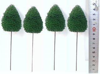 〔ディスプレイ・装飾・ジオラマなどに最適〕粉なし一般木【小】10本セット