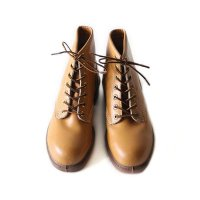 【SAVE UP 50%】1970's LETAHER WORK BOOTS MINT CONDITION (7 1/2)