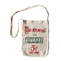 OLD ONE SHOULDER CANVAS BAG