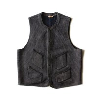 1950's BROWN'S BEACH WOOL VEST (X-LARGE)