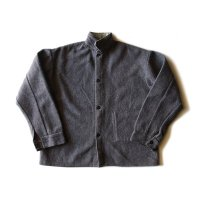 1950's〜 PRISON STYLE WOOL WORK SHIRT JACKET (MEDIUM)