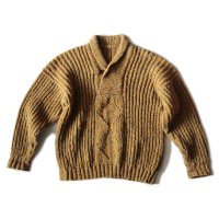 OLD MIX COLOR HAND KNIT SWEATER (UNISEX)