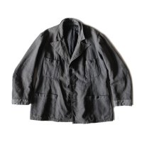 〜1930's FRENCH WORK WOOL JACKET (MEDIUM)