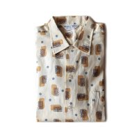 N.O.S 1960's COTTON BOX SHIRT (MEDIUM)