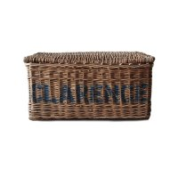 ANTIQUE CLEANING CLOTH BASKET