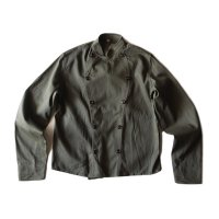 N.O.S 1950's〜 DENMARK MILITARY DOUBLE BREASTED COTTON JKT (MEDIUM)