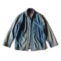 〜1940's PRISONER DENIM CHORE JKT (36 MEDIUM)