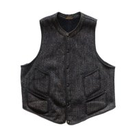 1940's BROWNS BEACH WOOL VEST (LARGE)