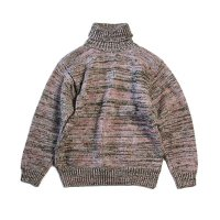 OLD MIX COLOR WOOL TURTLE NECK SWEATER (UNISEX)