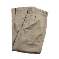 1950's〜 FRENCH ARMY CHINO TROUSER (W34.5) MINT CONDITION