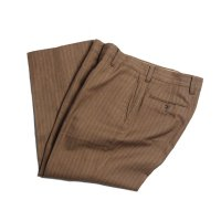 OLD STRIPE WOOL SLACKS (W35)