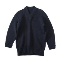 〜1950's WOOL V NECK SWEATER (MEDIUM)