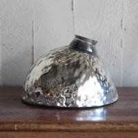 ANTIQUE SILVER MERCURY GLASS SHADE