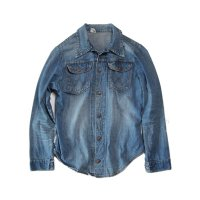 OLD WRANGLER DENIM SHIRT (X-SMALL)