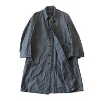 N.O.S 1940's FRENCH BLACK CHAMBRAY WORK COAT (MEDIUM)